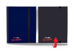 Ultra Pro 4-Pocket FLIP Pro Binder - Blue/Black (#84026)