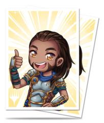 MtG Magic Chibi Collection Deck Protector Sleeves 100ct. - Gideon - Good Job! [#86911]