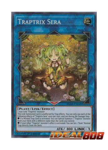 Traptrix Sera - BLHR-EN049 - Secret Rare - 1st Edition