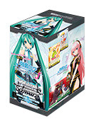 Hatsune Miku -Project DIVA- f (English) Weiss Schwarz Booster Box