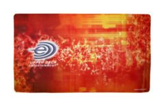 Upper Deck Entertainment Orange Flames Playmat