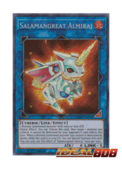 Salamangreat Almiraj - BLHR-EN054 - Secret Rare - 1st Edition
