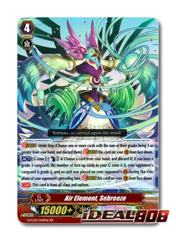 Air Element, Sebreeze - G-FC03/049 - RR