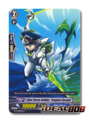 Blue Storm Soldier, Tempest Assault - BT15/084EN - C