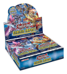 Genesis Impact (1st Edition) Yugioh Booster Box [24 Packs * DELAYED til Dec.18
