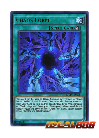 Chaos Form - MVP1-EN008 - Ultra Rare - Unlimited Edition