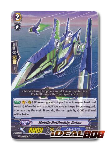 Mobile Battleship, Cetus - BT15/086EN - C