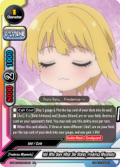Idol Who Does What She Wants, Frederica Miyamoto [S-UB-C03/0023EN RR (FOIL)] English