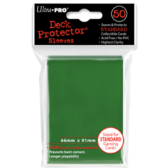 Ultra Pro Large Sleeves 50ct. - Green (#82671)