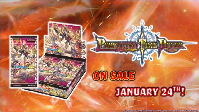 BFE-S-BT07 Perfected Time Ruler (English) Future Card Buddyfight Ace Booster Box [30 Packs] * PRE-ORDER Ships Jan.24