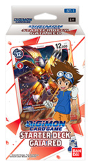 DGMN-ST01 Gaia Red (English) Digimon CCG Starter Deck [contains 54 card deck + 1 Ver.1.0 Pack]