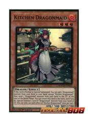 Kitchen Dragonmaid - MAGO-EN022 - Premium Gold Rare - 1st Edition