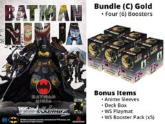 Weiss Schwarz CCS Bundle (C) Gold - Get x6 Batman Ninja Booster Boxes + FREE Bonus Items * PRE-ORDER Ships Jul.19