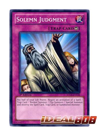 Solemn Judgment  - SDLS-EN038 - Common - Unlimited Edition