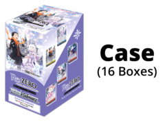 Re:ZERO - Memory Snow (English) Weiss Schwarz Booster  Case [16 Boxes] * PRE-ORDER Ships Aug.28