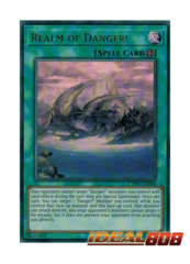 Realm of Danger! - CYHO-EN086 - Ultra Rare - Unlimited Edition