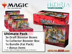 !MTGIkoria ULTIMATE PACK - Get x3 Ikoria: Lair of Behemoths Booster Box; x1 Bundle; x1 Collector Box + FREE Bonus Items