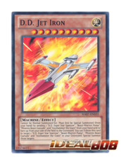 D.D. Jet Iron - HA07-EN035 - Super Rare - 1st
