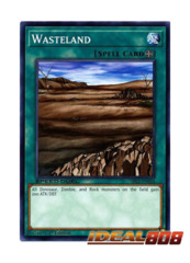 Wasteland - SBLS-EN036 - Common - 1st Edition