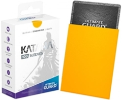 Katana Sleeve - Yellow 100ct