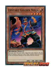 Upstart Golden Ninja - SHVA-EN023 - Super Rare - 1st Edition
