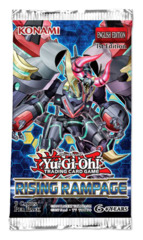 Rising Rampage (1st Edition) Yugioh Booster Pack [9 Cards]