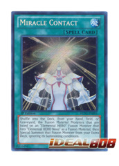 Miracle Contact - REDU-EN093 - Secret Rare - 1st Edition