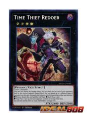 Time Thief Redoer - MP20-EN040 - Prismatic Secret Rare - 1st Edition