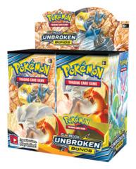 SM Sun & Moon - Unbroken Bonds (SM10) Pokemon Booster Box [36 Packs] * PRE-ORDER Ships May.03