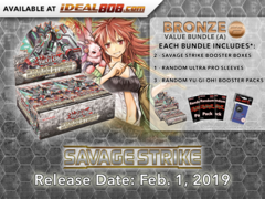 Savage Strike Bundle (A) - Get 2x Booster Boxes + Bonus Items * PRE-ORDER Ships Feb.01, 2019