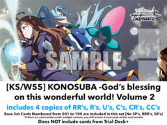 [KS/W55] KONOSUBA -God's blessing on this wonderful world! 2 (EN) Base Playset [Includes RR's, R's, U's, C's, CR's, CC's (400)]