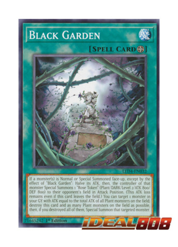 Black Garden - LED4-EN032 - Common - 1st Edition