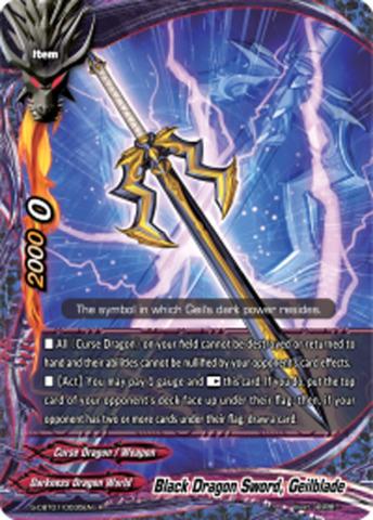 Black Dragon Sword, Geilblade [S-CBT01/0035EN R (FOIL)] English