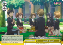 Lunch Break  [CCS/WX01-030R RRR (TEXTURED FOIL)] English