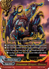 Dimension Dragon, Deacae [S-BT04/0002EN RRR (FOIL)] English