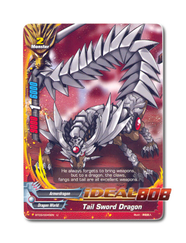 Tail Sword Dragon - BT03/0045EN (U) Uncommon
