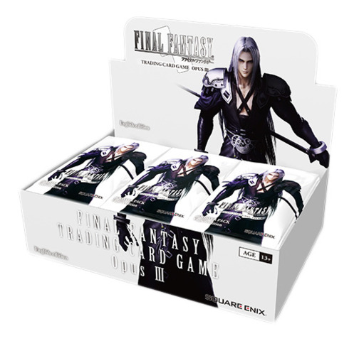 Final Fantasy TCG: Opus III (3) Collection Booster Box (36 Packs)
