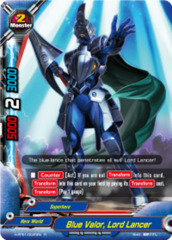 Lord Lancer Buddyfight x 4 Blue Valor H-PP01/0035EN R English Mint Future Car