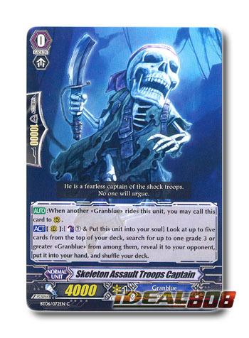 Skeleton Assault Troops Captain - BT06/072EN - C