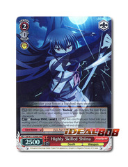 Highly Skilled Shiina [AB/W31-E066R RRR (FOIL)] English