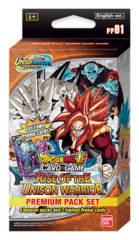 DBS-PP01 Rise of the Unison Warrior (English) Dragon Ball Super Premium Pack Set [4 Packs + 2 Promos] * PRE-ORDER Ships Jul.17