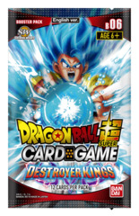 DBS-B06 Destroyer Kings (English) Dragon Ball Super Booster Pack