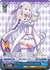 Pure and Innocent, Emilia [RZ/S55-E056S SR (FOIL)] English