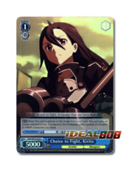 Choice to Fight, Kirito [SAO/SE23-E29 C (FOIL)] English