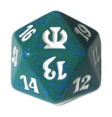 MTG Spindown 20 Life Counter - Theros (Green)