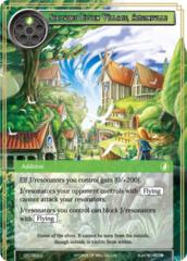 Secluded Elven Village, Amonsulle [CFC-063 U (Foil)] English