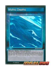 Mythic Depths - SBAD-ENS02 - Super Rare - 1st Edition
