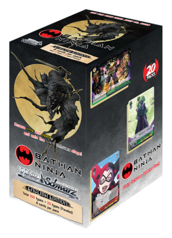 Batman Ninja (English) Weiss Schwarz Booster Box [20 Packs]