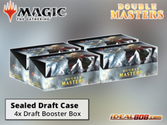 Double Masters (2XM) Draft Booster  Case (4 Boxes)