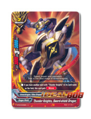 Thunder Knights, Sword-shield Dragon - BT03/0046EN (U) Uncommon